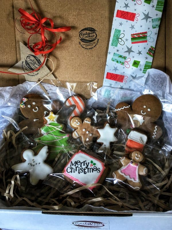 Large Xmas Box - Redgum Cookie Company