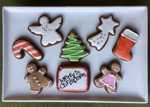 Xmas Selection Small Cookies - Redgum Cookie Company